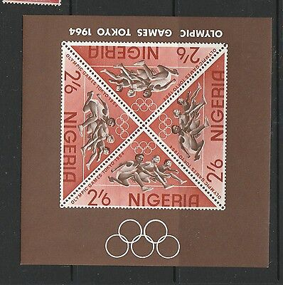 Nigeria 1964 Olympic games MS UM/MNH SG MS156a