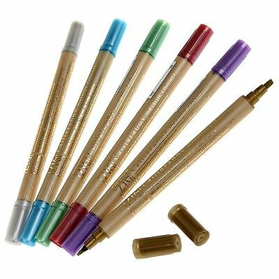 Zig Memory System Calligraphy Pen - 9 Metallic Colours - Single Pen