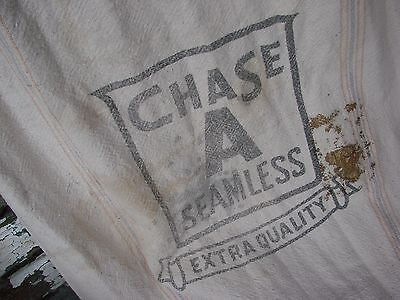 Vintage Chase A Seamless Extra Quality Muslin Feed Sack/bag
