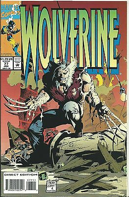 Wolverine #77 (Marvel) 1988 Series