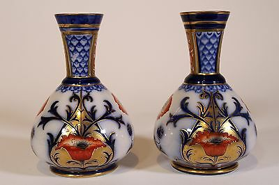 Pair Early Macintyre & Moorcroft Vases C.1900