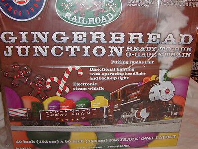 Lionel 6-30219 Gingerbread Junction Docksider Train Set MIB O 027 2013 Christmas