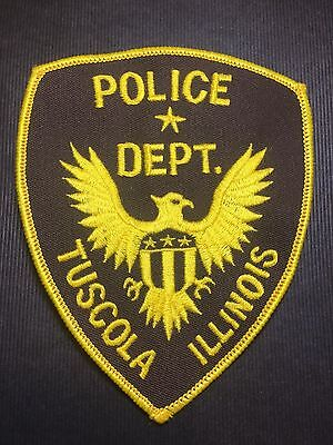 Tuscola  Illinois Police  Shoulder Patch