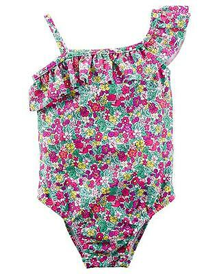 Carter's Toddler Girls 1pc Floral Swimsuit Set Size 2T 3T 4T 5T $34