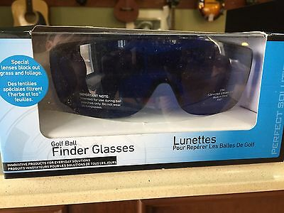 """New """"perfect Solutions"""" Golf Ball Finder Glasses - Block Out Grass And Foliage!"""