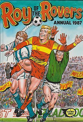 ROY OF THE ROVERS ANNUAL 1987 [Vintage H/B]