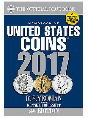 Whitman's Official Blue Book Guide of United States Coins 2017