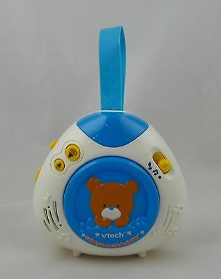 Vtech Lullaby Bear Baby Soother Crib Projector Musical Player with Strap