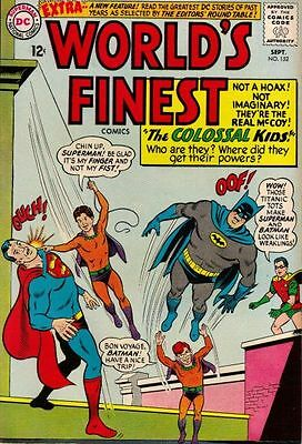 WORLD'S FINEST COMICS #152 VG/F, Superman, Batman, DC Comics 1965