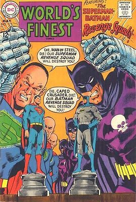 WORLD'S FINEST COMICS #175 F, Superman, Batman, Neal Adams c/a, DC Comics 1968