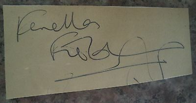 Fenella Fielding (Carry On Star) Hand Signed Card
