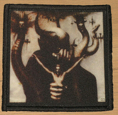 """CELTIC FROST """"TO MEGA THERION"""" silk screen PATCH"""
