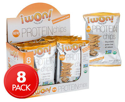 iWon Nutrition Protein Chips Cinnamon French Toast Flavour 8pk 52g