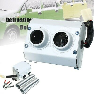 12V 300W Portable Car Tungsten Heater Thermostat Fan Defroster Demister