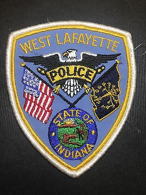West Lafayette Indiana  Police   Shoulder Patch