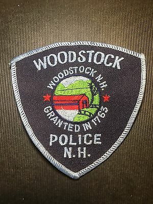 Woodstock  New Hampshire  Police Shoulder Patch