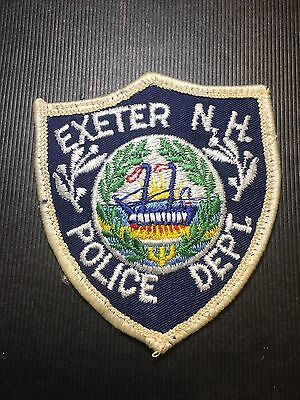 Exeter  New Hampshire  Police Small Shoulder Patch