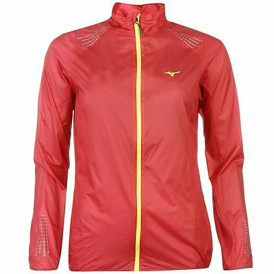 Mizuno Womens Light Weight 7D Jacket Running Sport Ladies Clothing
