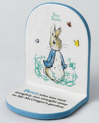 A24351 Beatrix Potter Nursery Collection Peter Rabbit Single Bookend  19780