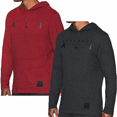 Under Armour UA Mens Ali Wordmark Triblend Pullover Hoody Hoodie Jumper Top