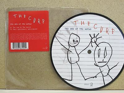 """THE CURE- End of The World/ Fake 7"""" Single **PICTURE DISC Vinyl 2004 Unplayed**"""