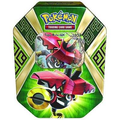 POKEMON SUN & MOON * Island Guardian Tin - Tapu Bulu GX