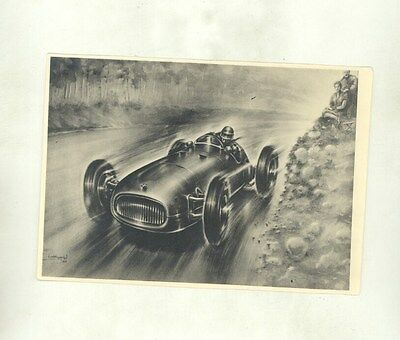 1950 BRM V16 Race Car Piet Olyslager Automobile Art ORIGINAL Photograph ww8907