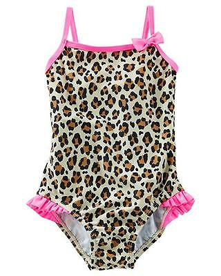 Osh Kosh B/'gosh Infant Girls 2pc L//S Rashguard Swim Set Size 3M 6M 9M 18M 24M