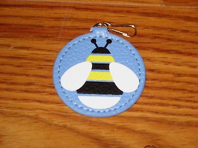 New Estee Lauder Bee Animal Leather Key Chain Fob Purse Bag Charm Gift Limited