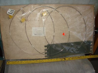 3 New Marchi Thermocouple Assembly Plus Mount Rack