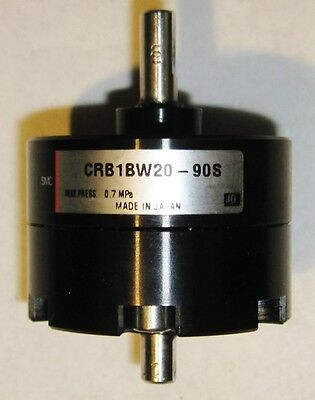Smc Crb1Bw20-90S Pneumatic Rotary Actuator
