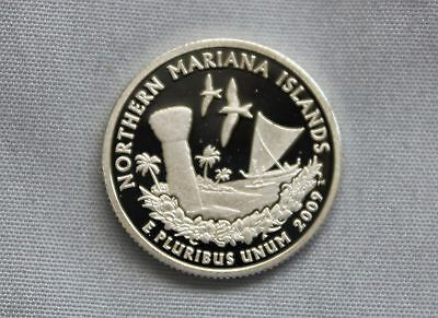 2009-S Northern Mariana Islands Silver Proof US Territories Ultra Deep Cameo