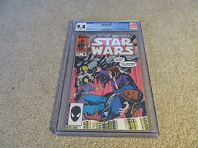 Star Wars #99 CGC 9.4 1985 Marvel White Pages See My Store