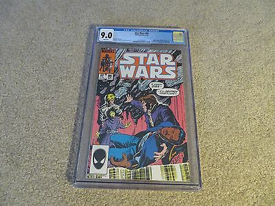 Star Wars #99 CGC 9.0 1985 Marvel White Pages See My Store
