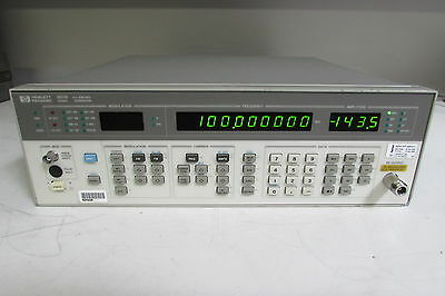 Agilent 8657B Synthesized Signal Generator, 100 kHz to 2060 MHz, no opt