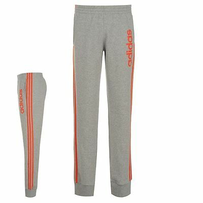 adidas Kids Prime Pants Junior Boys Warm Training Running Elastic Trousers