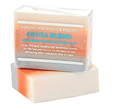 Premium Maximum Whitening/Peeling Soap w/ Glutathione, Arbutin, And Kojic Acid
