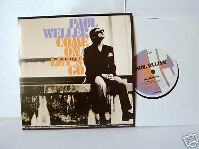 "Paul Weller 7Single-Foc  ""Come On/Lets Go"" Foldout-Sleev.NEW 2005"