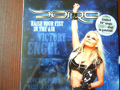 Doro  10 Vinyl EP Raise Your Fist In The Air  NEW-OVP 2012