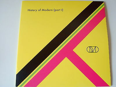"OMD  10""Vinyl EP History Of Modern Part 1 NEW  2011"
