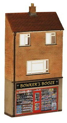 Bachmann Scenecraft Oo Low Relief Off License With Maisonette Bln44249