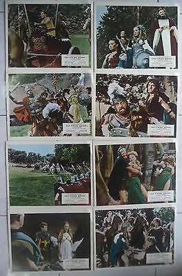 The Viking Queen Rare 1967 Hammer Uk Lobby Card Set (8 Cards) Carita/don Murray