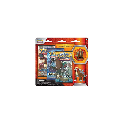 POKEMON SUN & MOON * Collector's Pin 3-Pack Blister: Entei
