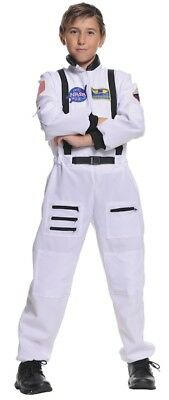 Astronaut NASA Spaceman White Suit Boys Costume