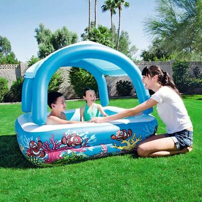 Bestway Canopy Play Pool Inflatable Swimming Kid Family Outdoor Garden 52192