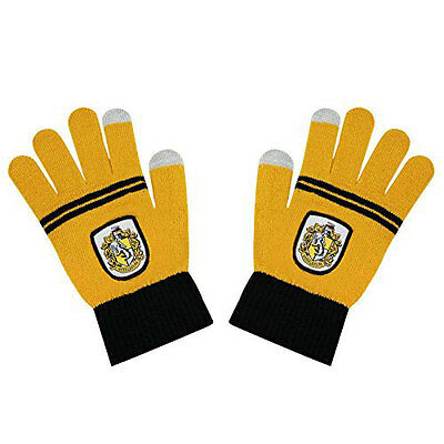 Harry Potter E-Touch Gloves Hufflepuff Cinereplicas Guanti