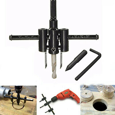 Adjustable Circle Hole Cutter Wood Drywall Drill Bit Saw Round Cutting / Blade