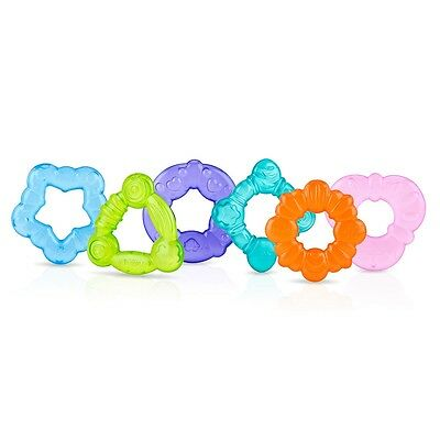 Nuby 3-Pack Ring Chill koolSoother Teether