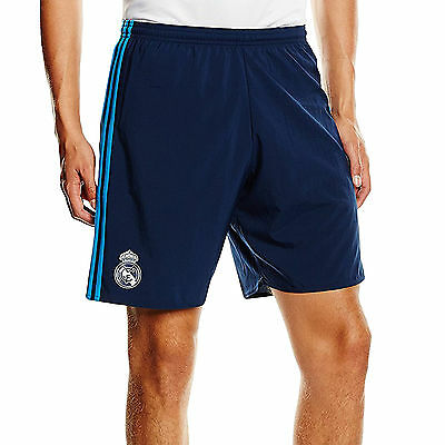adidas Performance Mens Football Real Madrid 2015-16 Replica Third Shorts Indigo