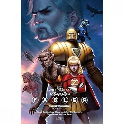 Fables: The Deluxe Edition (Volume 12) - Hardcover - Brand New!